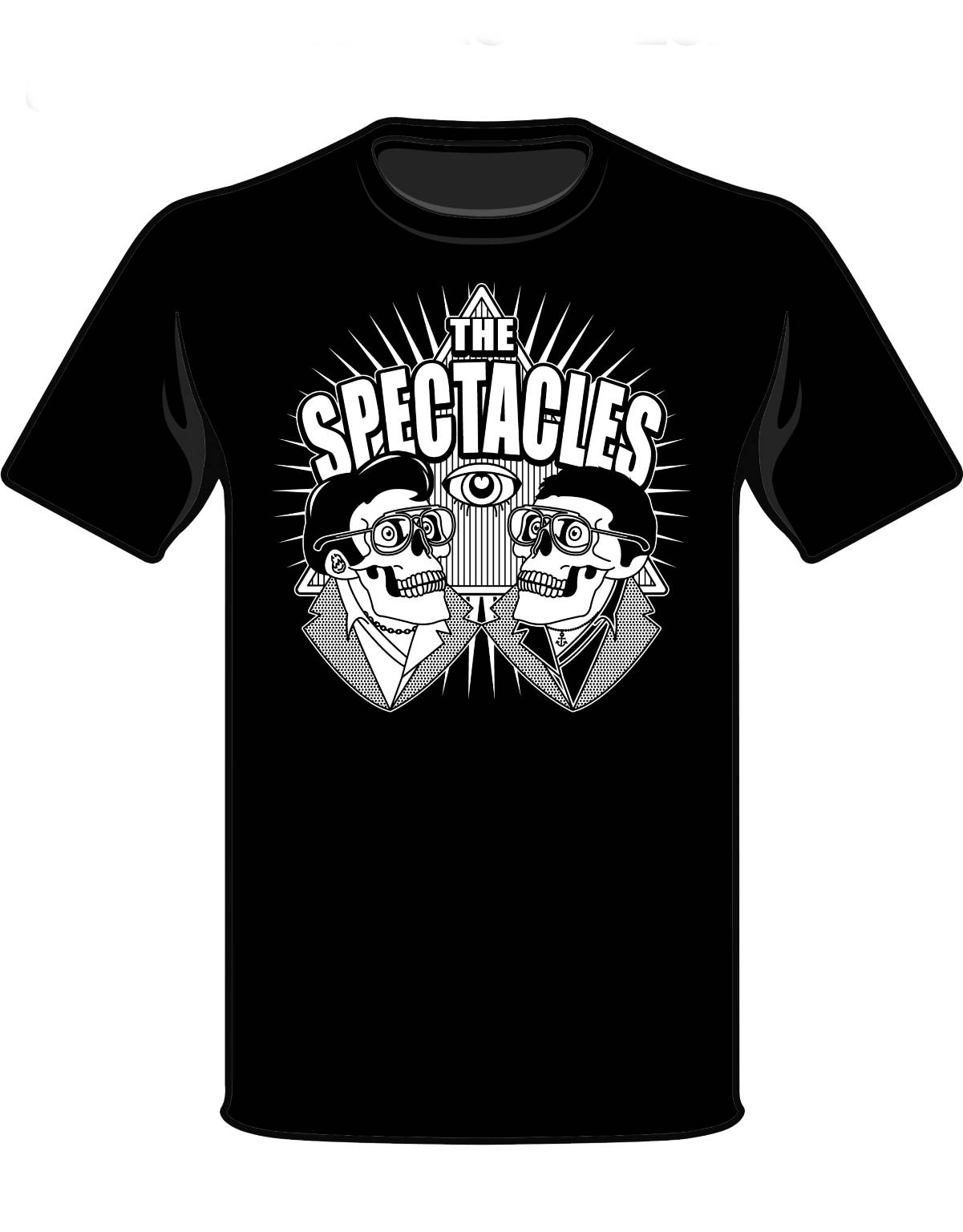 spectacles shirt front